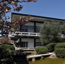Istituto Giapponese di Cultura - Roma  interni ed esterni dell'Istituto